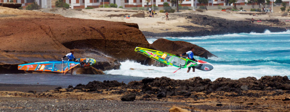 Tenerife finest beaches playa de El Cabezo