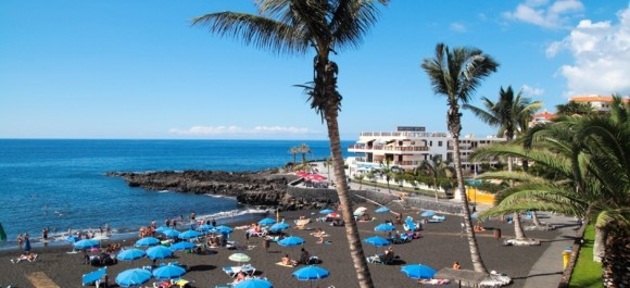 Tenerife finest beaches playa de La Arena