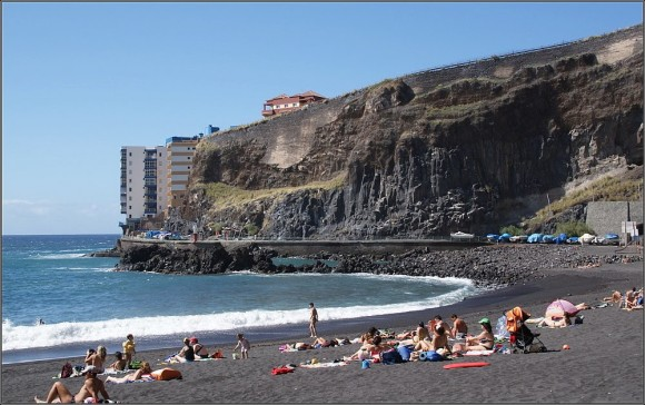 Tenerife finest beaches playa de La Arena Mesa del Mar