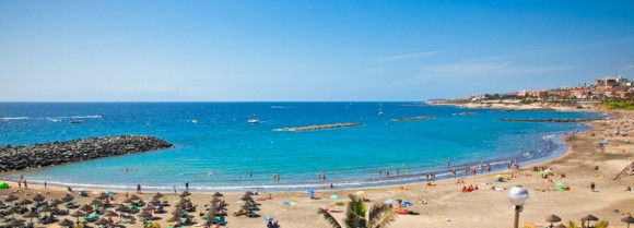 Tenerife finest beaches playa de Las Americas