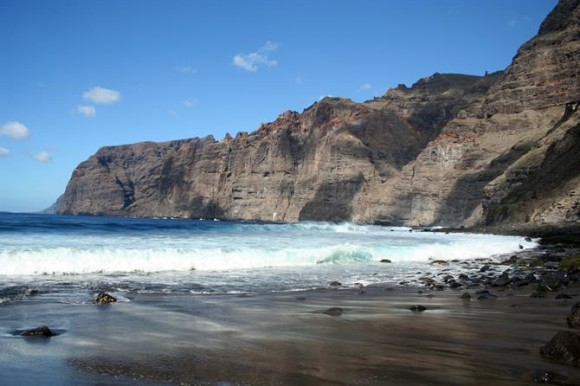 Tenerife finest beaches playa de Los Gigantes