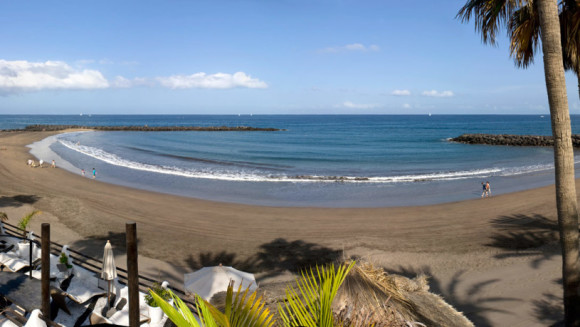 Tenerife finest beaches playa de Troya