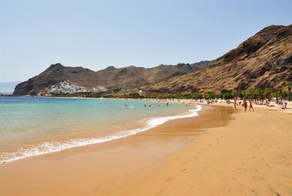 The most beautiful beach of Las Teresitas Tenerife beaches