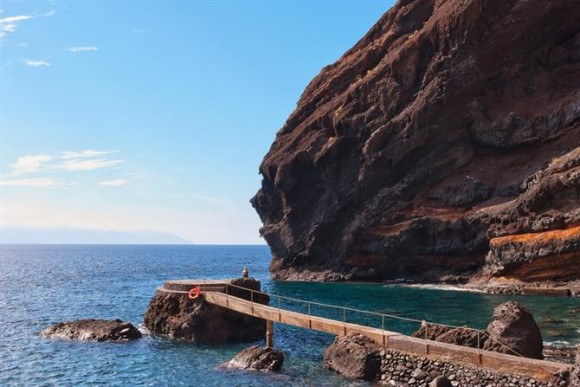 Tenerife finest beaches beach of Masca