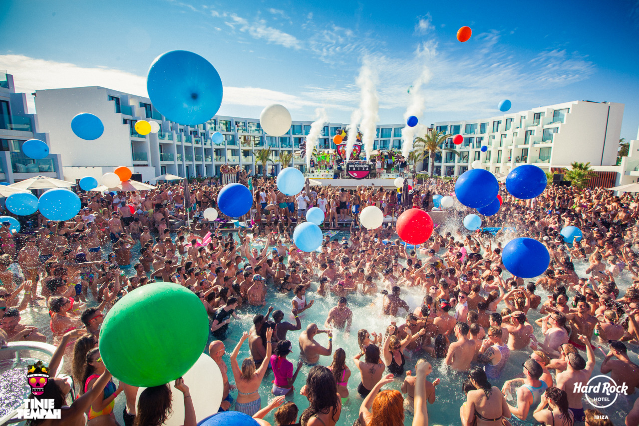 Hard Rock Hotel Ibiza Pool Party