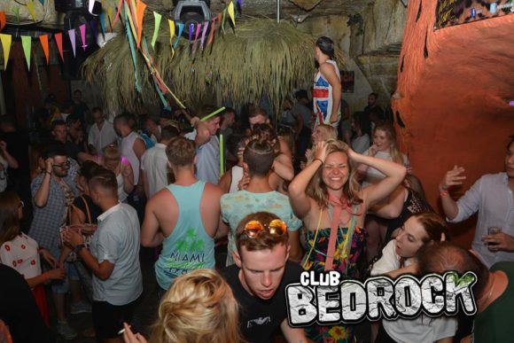 Rhodes Faliraki nightlife Bedrock Club