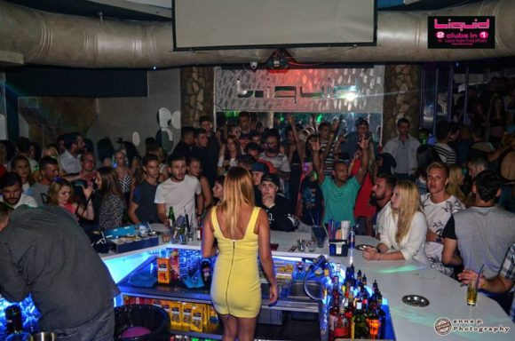 Rhodes Faliraki nightlife Liquid Club