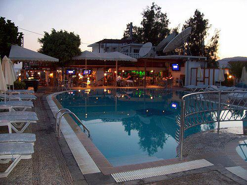 Rhodes nightlife Oasis Pool Bar Pefkos