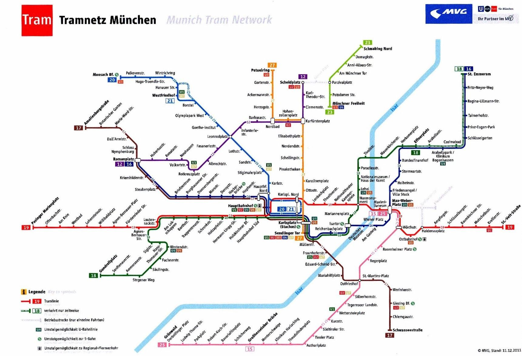 Munich Subway Map.How To Get To Munich Connections Between The Airports Of Munich