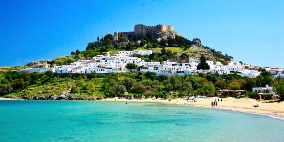 Rhodes Lindos ' most beautiful beaches