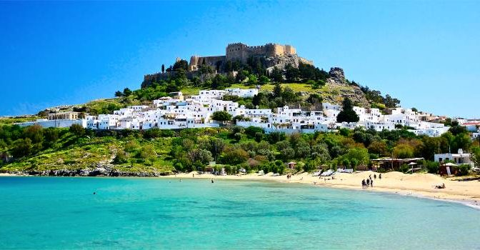 The most beautiful beaches of Rhodes