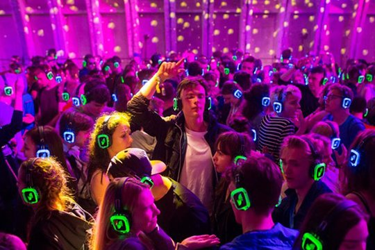 Nightlife Amsterdam HUSH Silent Disco