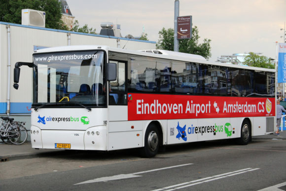 How to get to Amsterdam Airport Eindhoven Amsterdam AirExpressBus shuttle