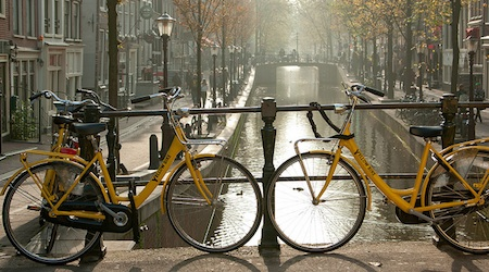 How to get around in Amsterdam transport bicycle Yellow Bike Amsterdam