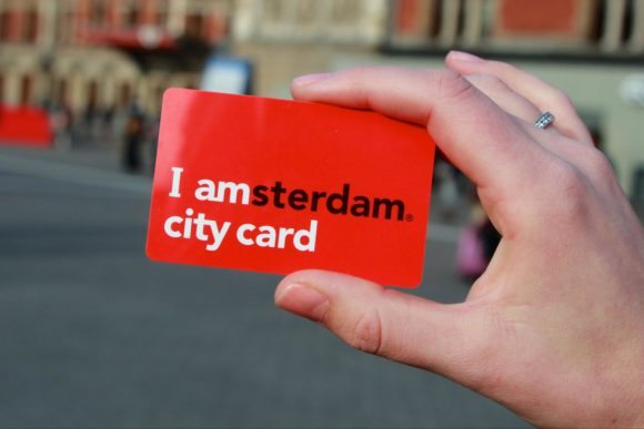 visit Amsterdam with I Amsterdam City Card