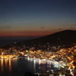 Saranda by night Albania