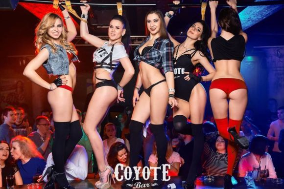 Minsk nightlife Coyote Bar