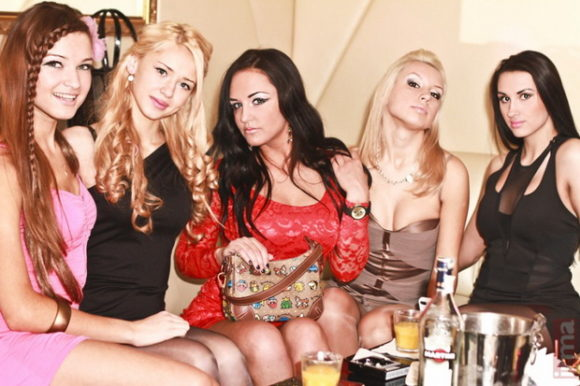 Minsk nightlife Madison Royal Club Belarus girls