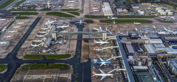 London Gatwick Airport linki dojazdu