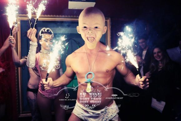 Nightlife London Cirque Le Soir extravagant shows