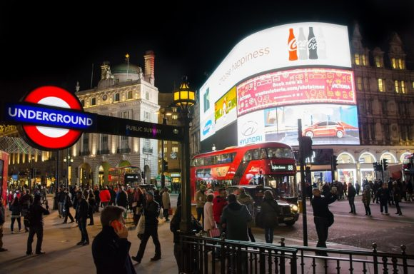 Nightlife London Piccadilly Circus