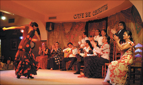 Vita notturna Madrid tablao flamenco