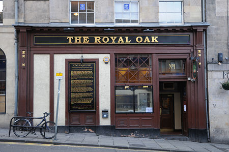 Vida nocturna Edimburgo Royal Oak