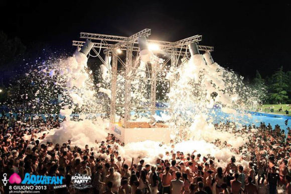 Nightlife Riccione Aquafan Foam Party