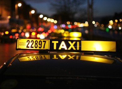 Taxi connections Airport Dublin city center