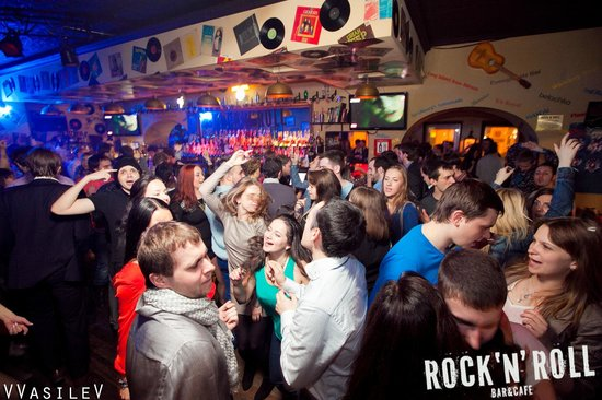 Vita notturna Mosca Rock'n'Roll Bar