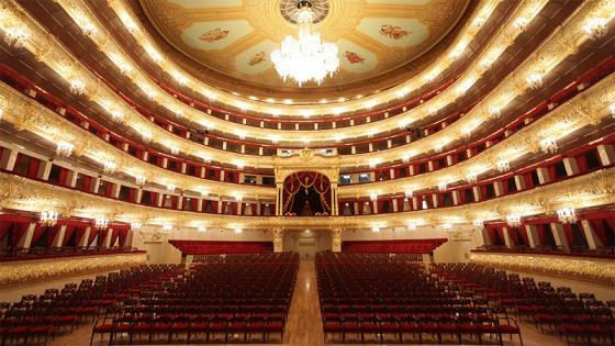 Nightlife Moscow Bolshoi Theater