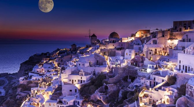 Nightlife Santorini