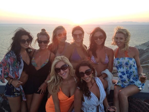 Santorini Girls Night Life