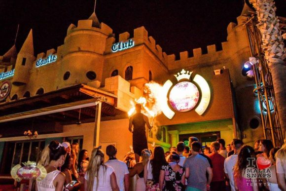 Nightlife Crete Camelot Castle Club Malia