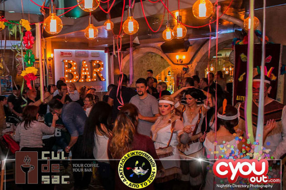 Nightlife Crete Cul De Sac Rethymno