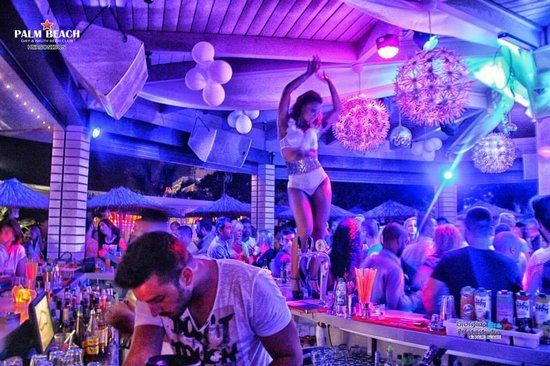 Nightlife Crete Palm Beach Club Hersonissos