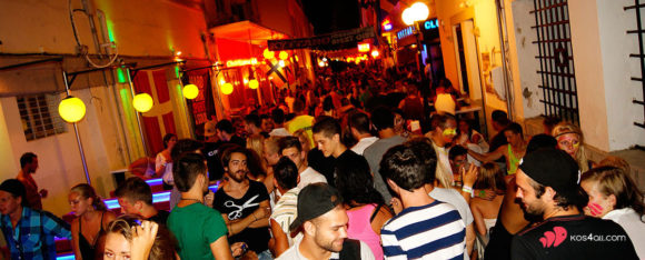 Nightlife Bar Street Kos