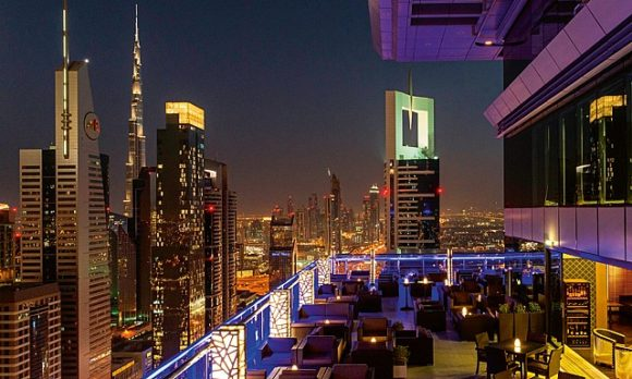 Vita notturna Dubai Level 43 Sky Lounge