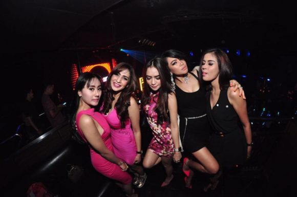 Nightlife Boshe VVIP Club Bali Kuta Beach girls