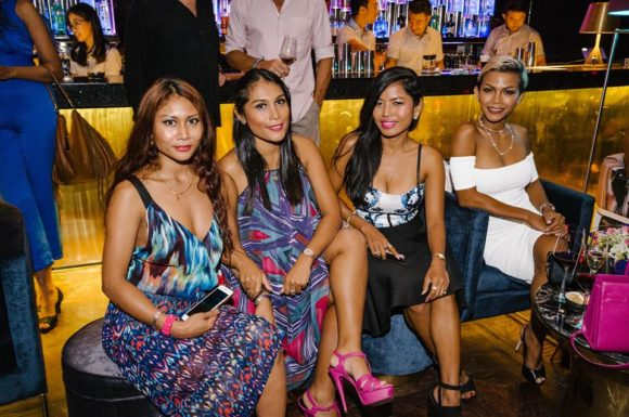 Nightlife Envie Lounge Seminyak Bali Indonesian girls