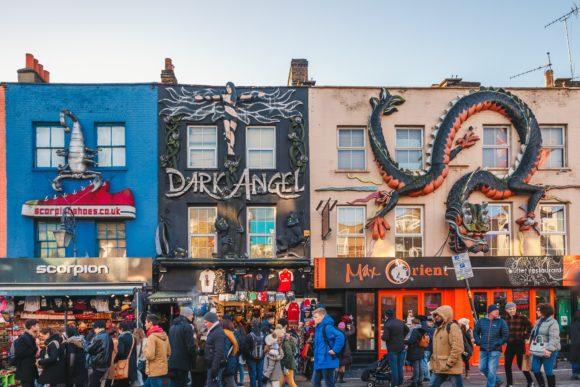 What to see what to visit Camden Town in London