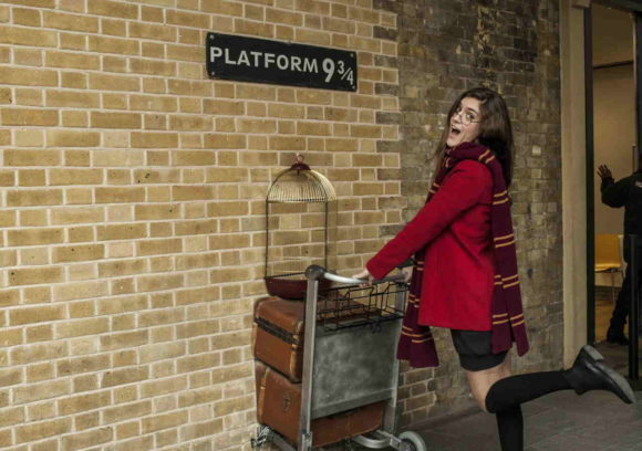 What to see what to visit in London Platform 9 3/4