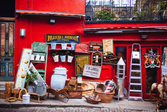 What to see what to visit in London Portobello Road Market