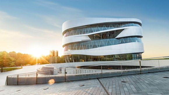 What to see what to visit Mercedes Museum in Stuttgart
