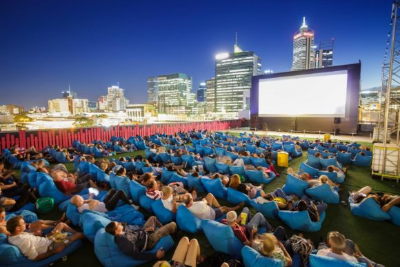 Vita notturna Perth Rooftop Movies
