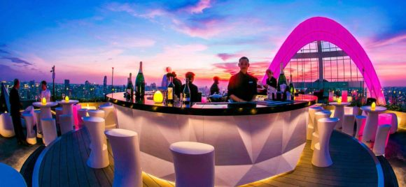 Nightlife Bangkok Cru Champagne Bar