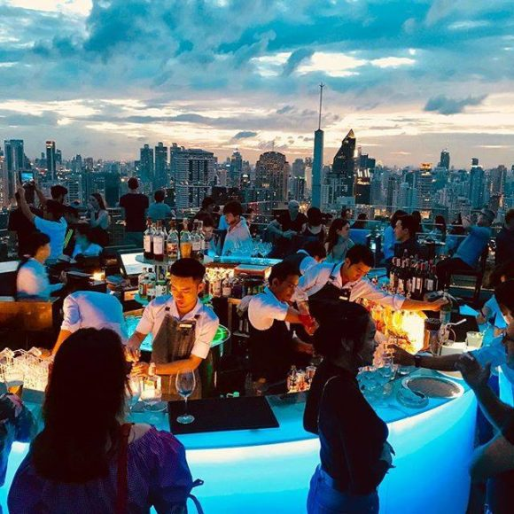Nightlife Bangkok Octave Rooftop Bar