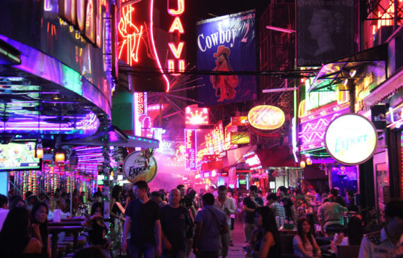 Nightlife Bangkok's Pat Pong