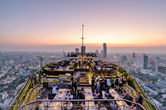 Nightlife Bangkok Vertigo and Moon Bar
