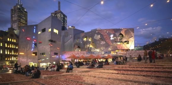 Nightlife Melbourne Federation Square